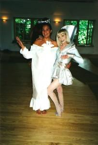 Omnec und Anja Venus Dance Workshop 1999