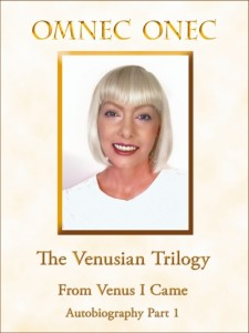 Ebook Cover From Venus I Came for Amazon Kindle