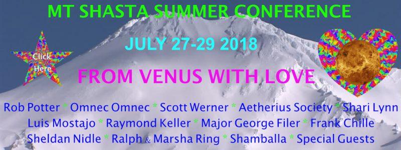 Mt. Shasta Summer Conference 2018