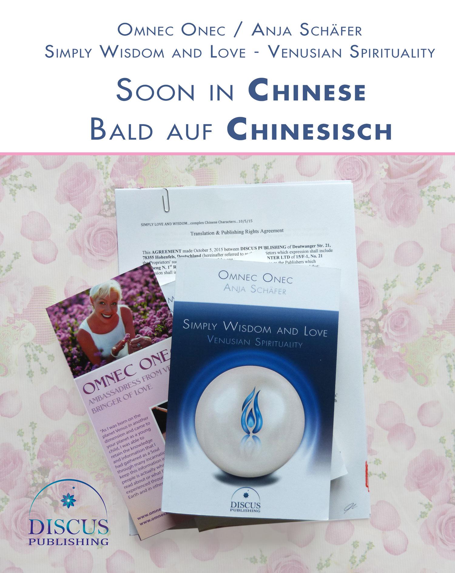 """Chinesische Ausgabe von """"Simply Wisdom and Love"""""""