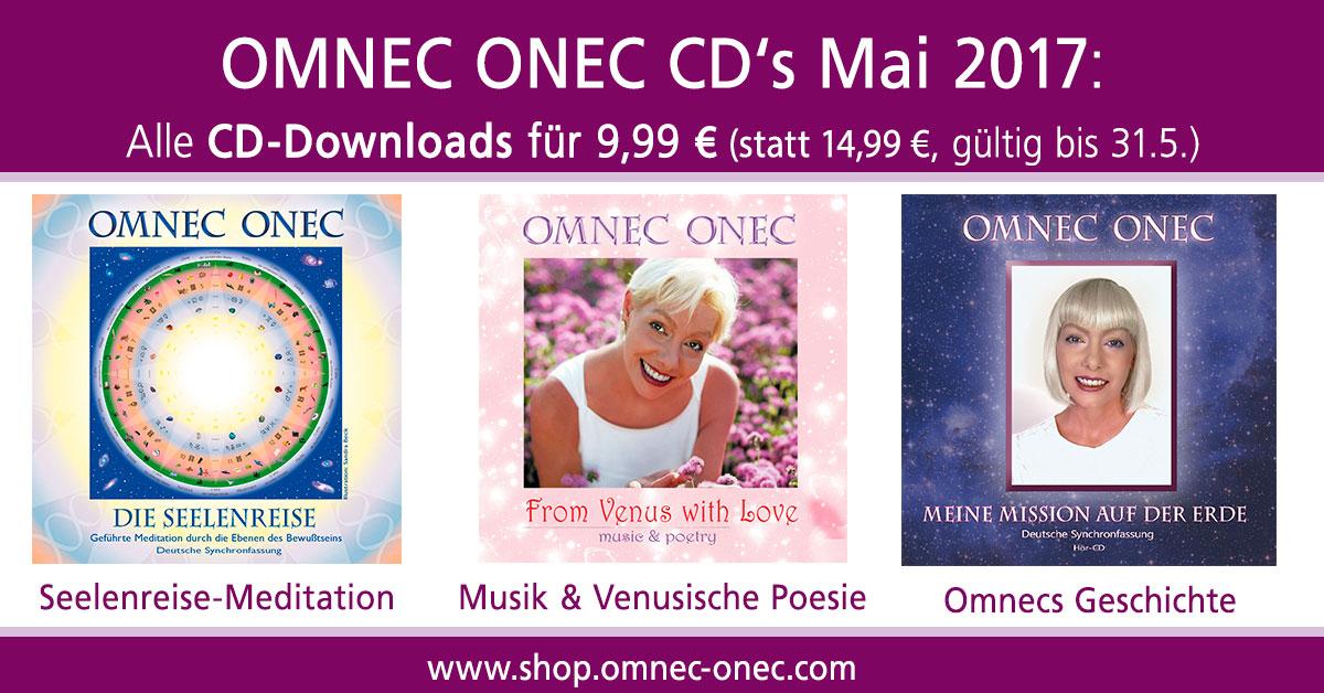 Mai 2017 CD Sonderangebot