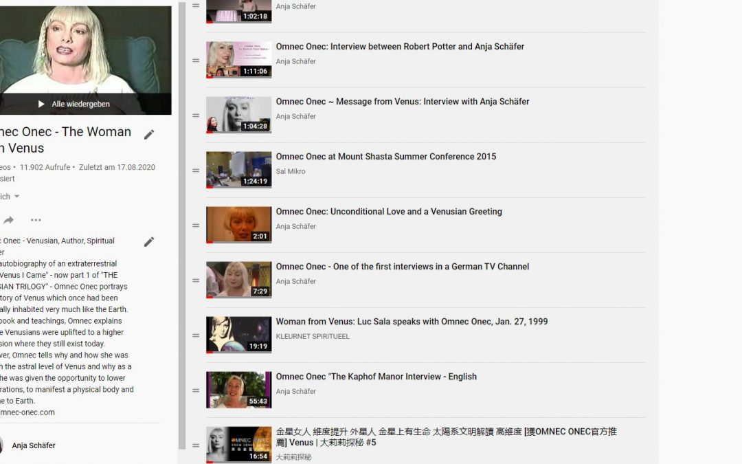 Playlist with Omnec Videos on YouTube