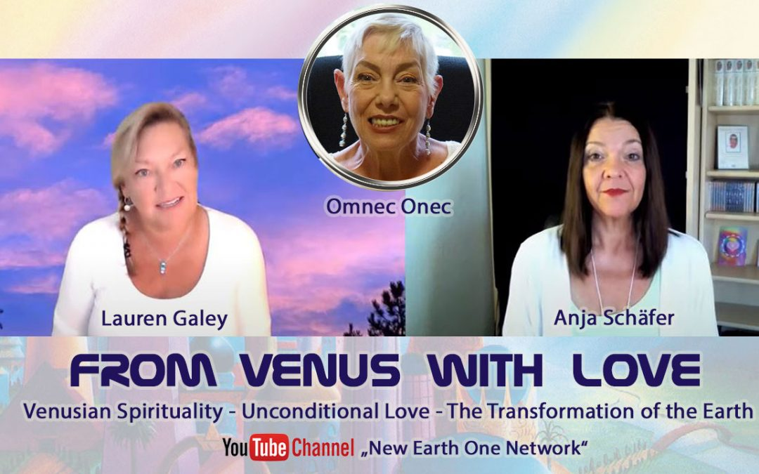 💜 From Venus with Love ♡ Interview Anja Schäfer and Lauren Galey 💜